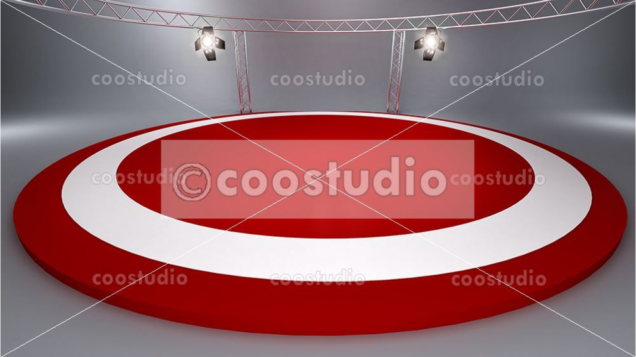 stage background studio tv