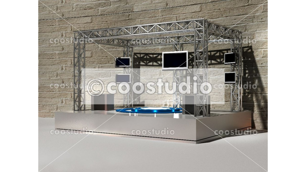 Stage virtual studio