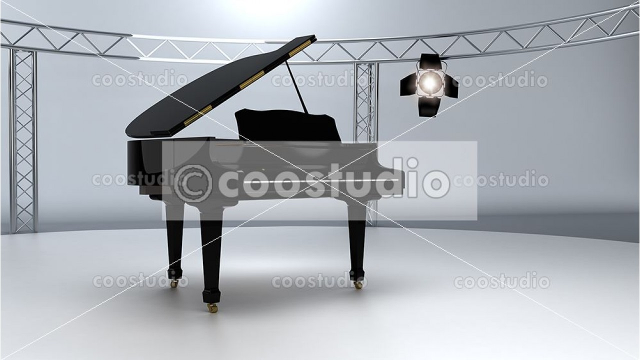 Stage virtual set