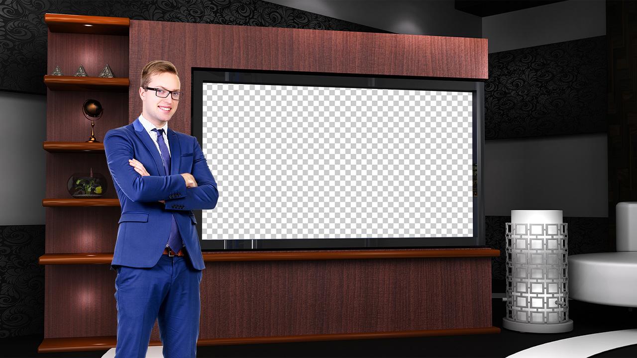 virtual set studio tv 15