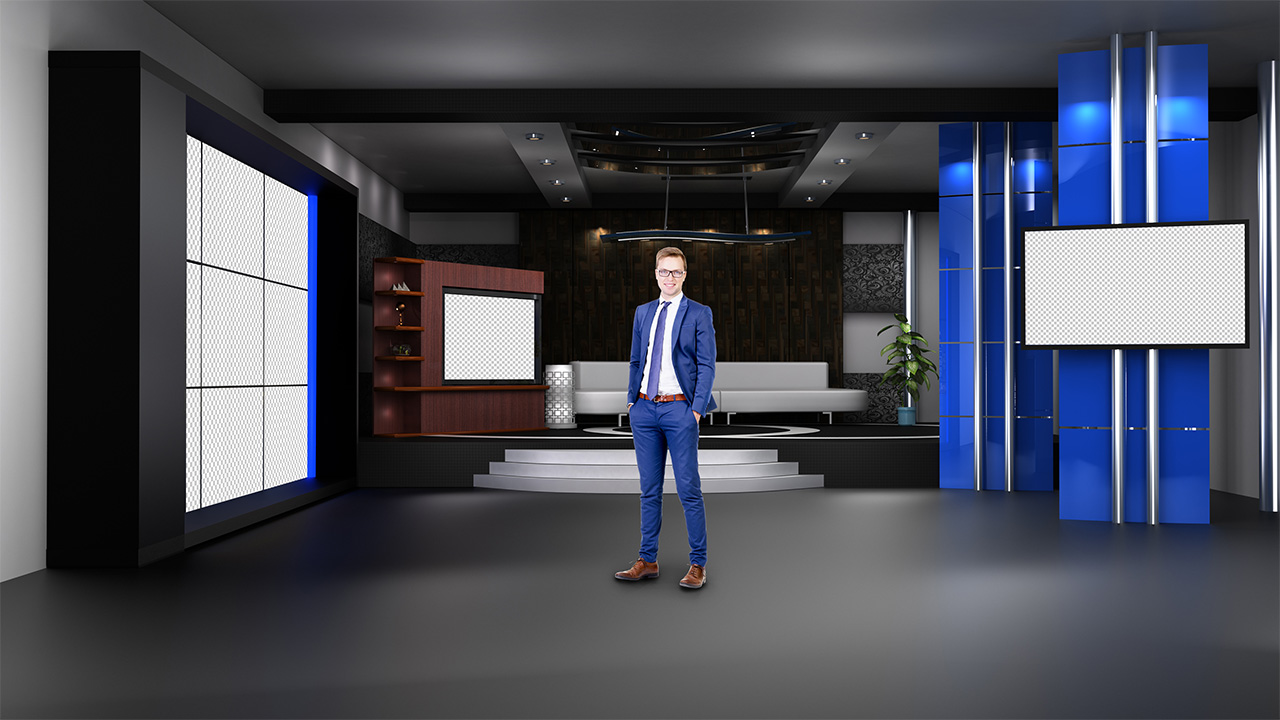 virtual set studio tv 15