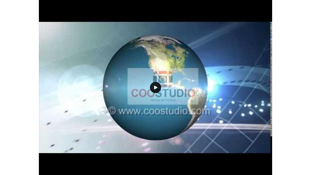 Free HD global news motion video background loop
