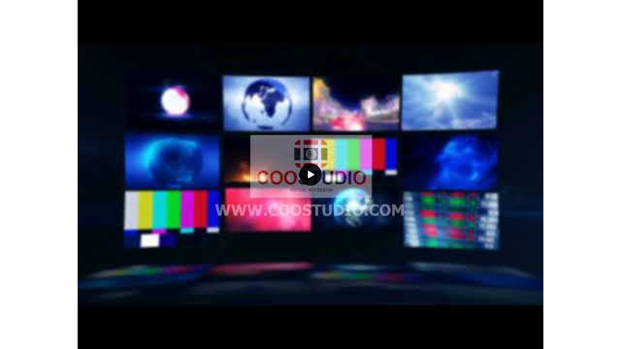 screen tv wall background loop video motionprimmum footage video