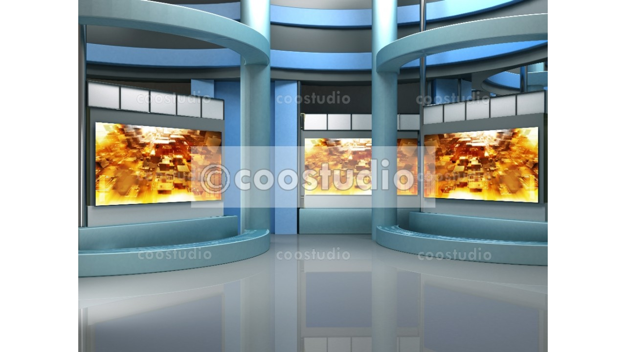 Background studio set 36virtual set