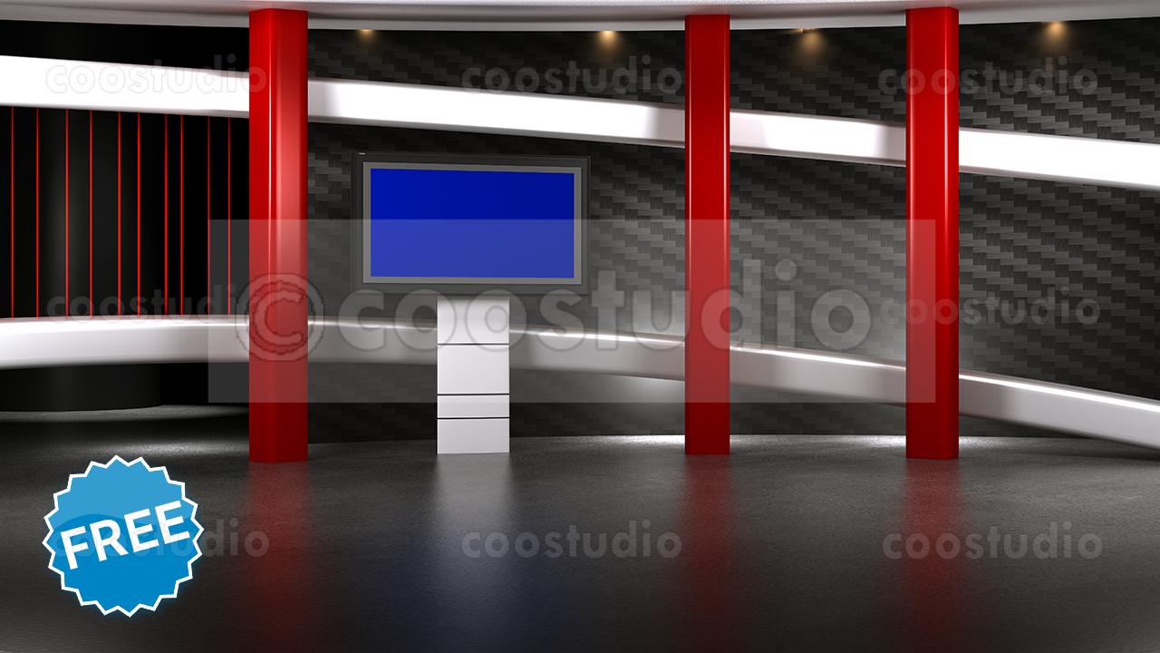 Free realistic virtual sets