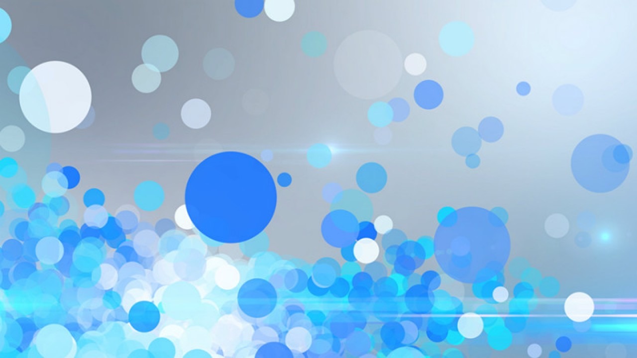 tv production blue particle background video