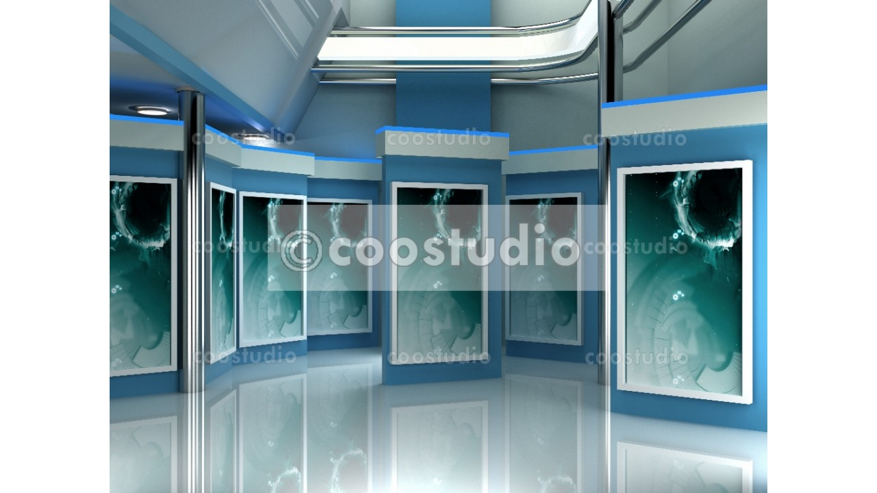 News Tech Studio TV 9virtual set