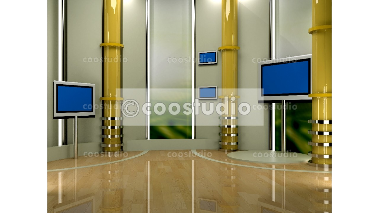 Studio virtual set TV Production 7virtual set