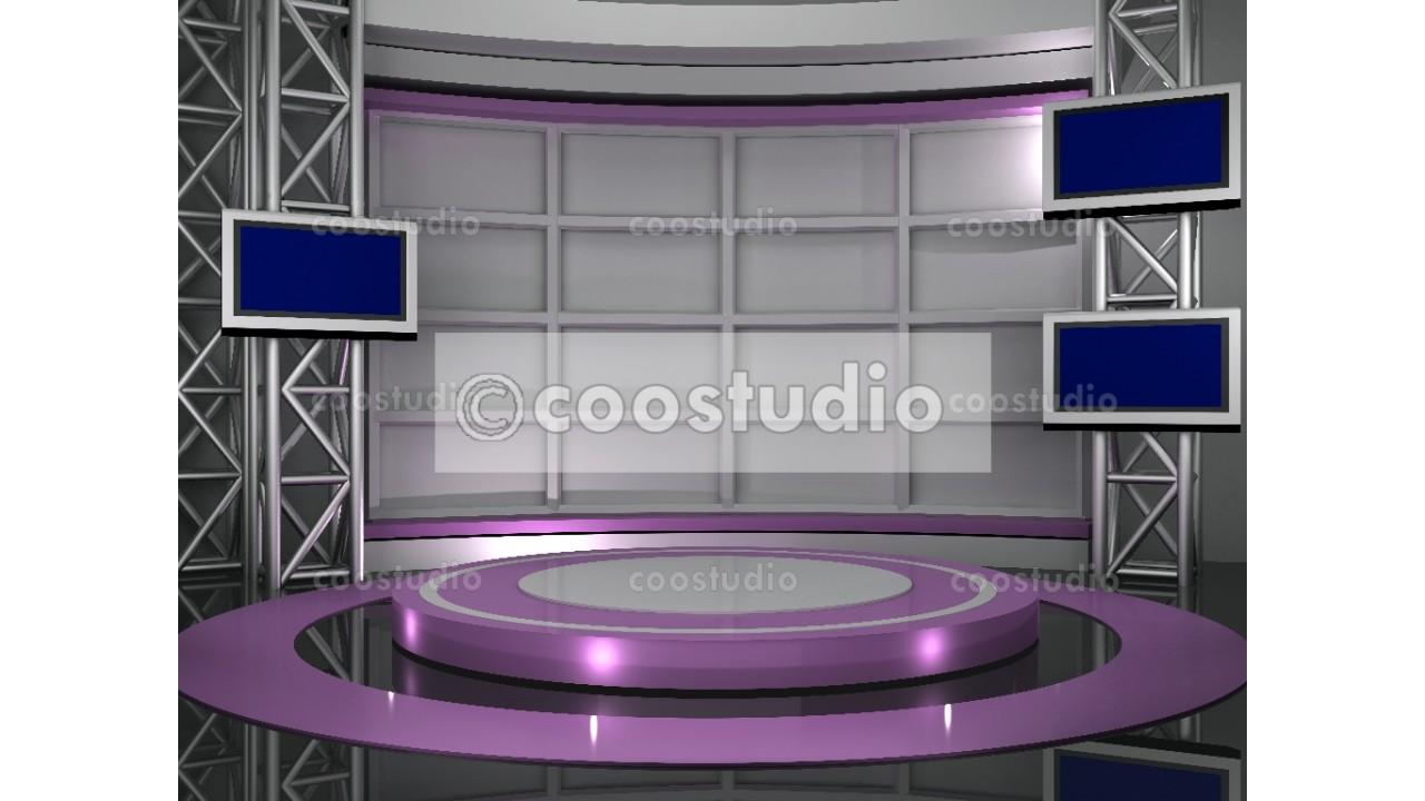 Violet Tv Studio backdrop 29virtual set
