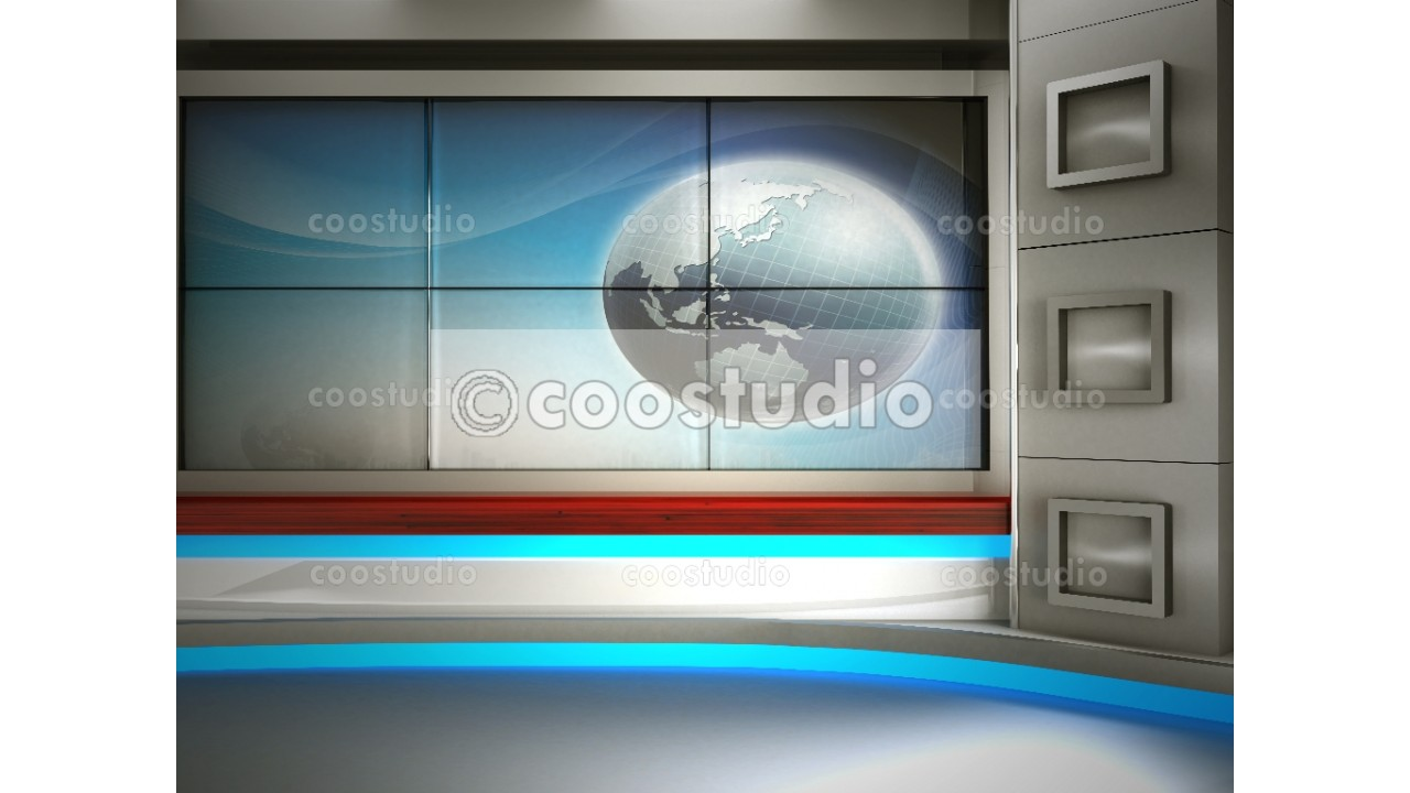 big screen show virtual set background