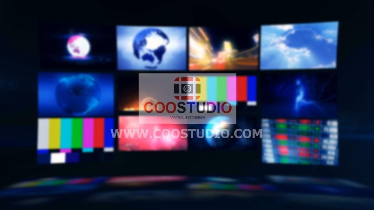 screen tv wall background loop video motionprimmum footage video