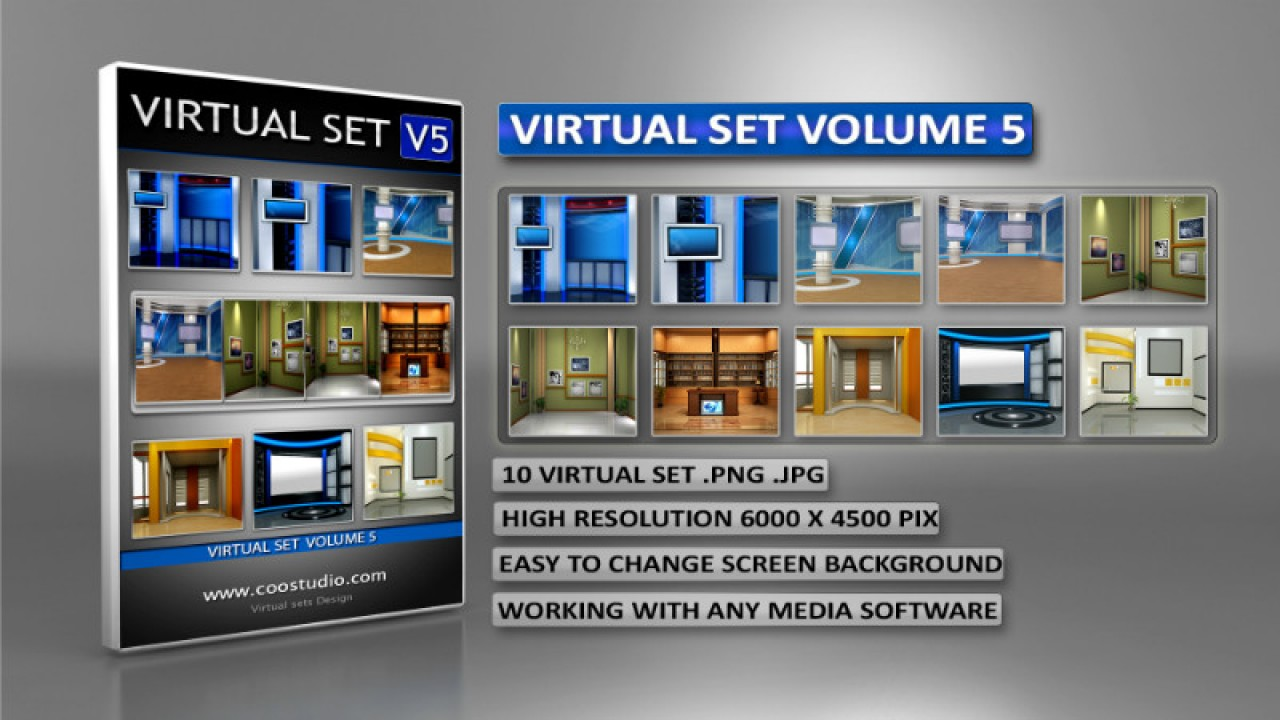 virtual studios for vMix-TriCaster