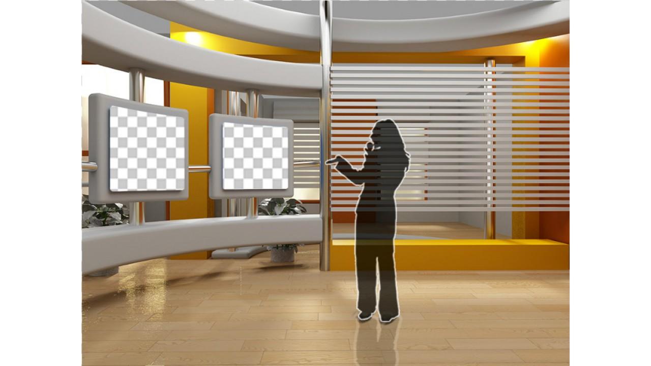virtual studio background for green screen 8virtual set