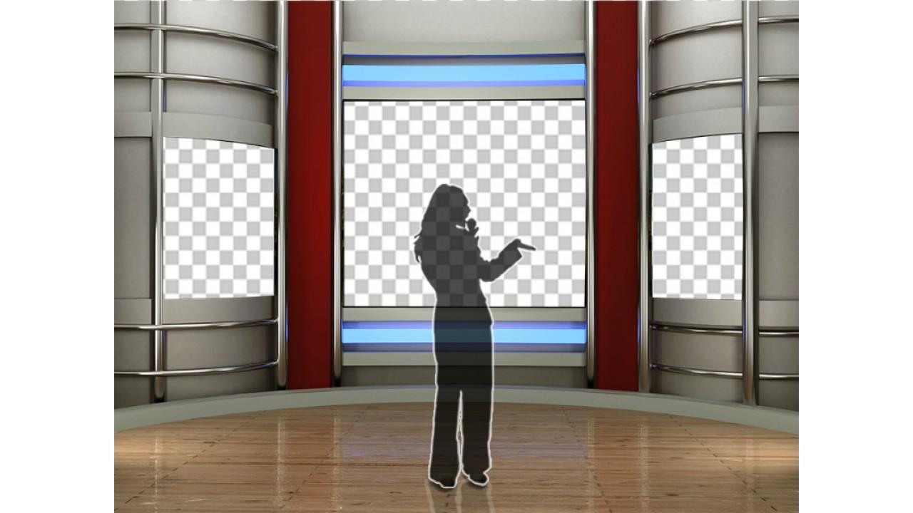 broadcast news virtual set 15virtual set