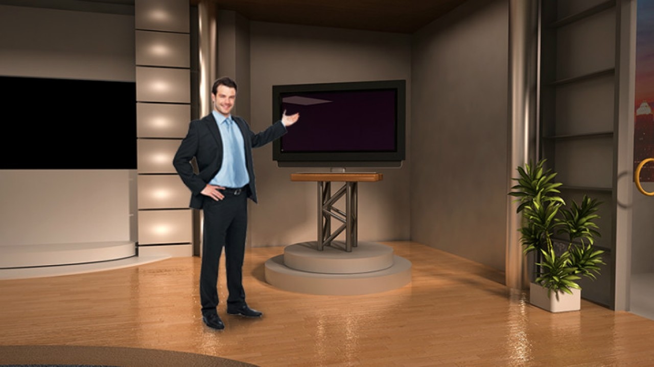 virtual set studio tv 10studio tv pack 1