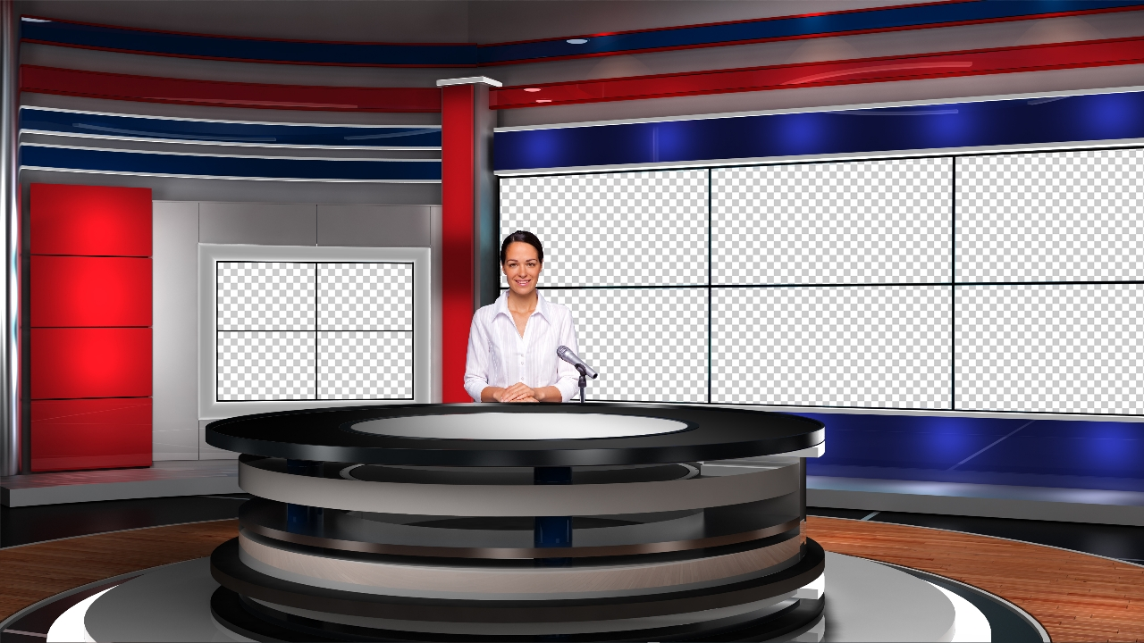 virtual set studio tv 14