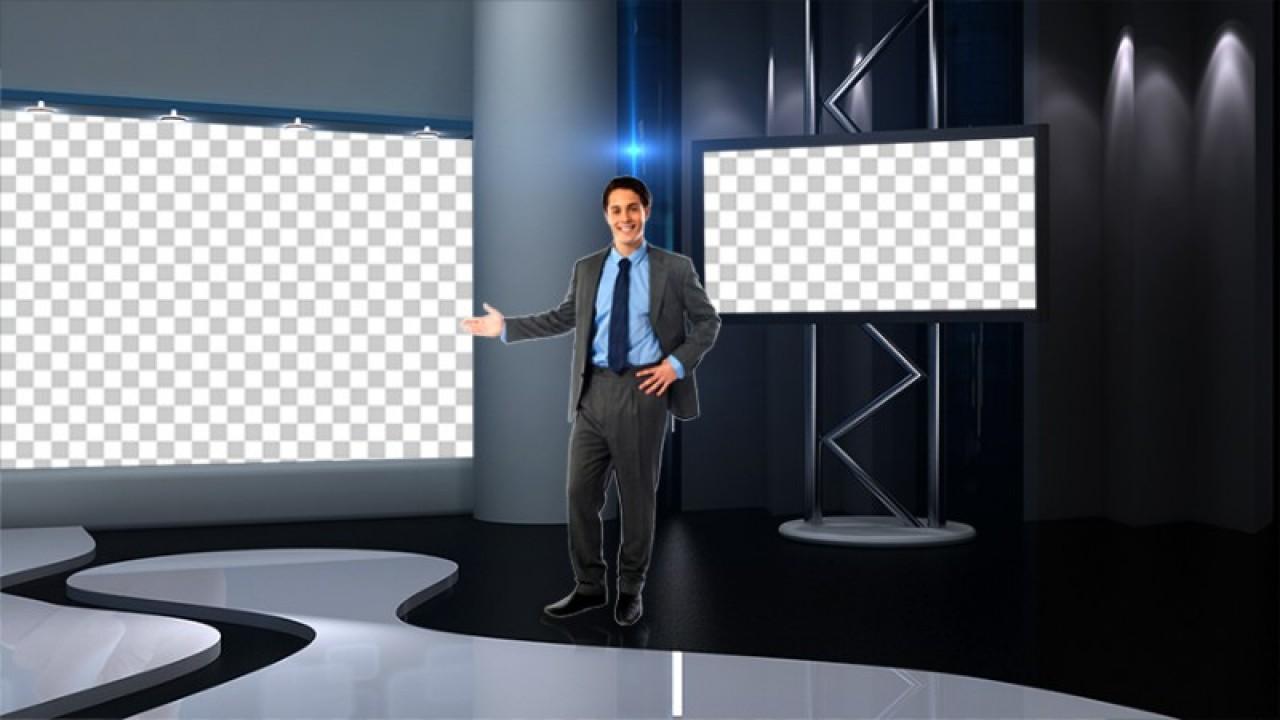 virtual set studio tv 4studio tv pack 1