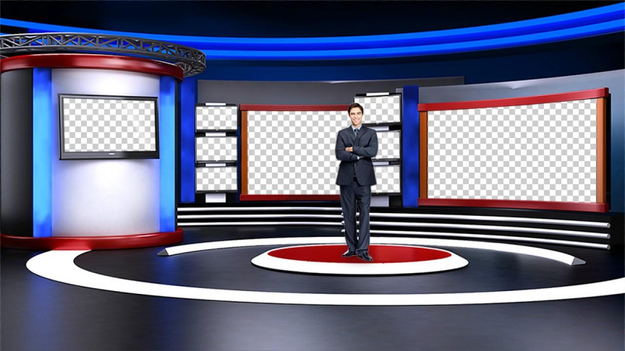 virtual set studio tv 9studio tv pack 1