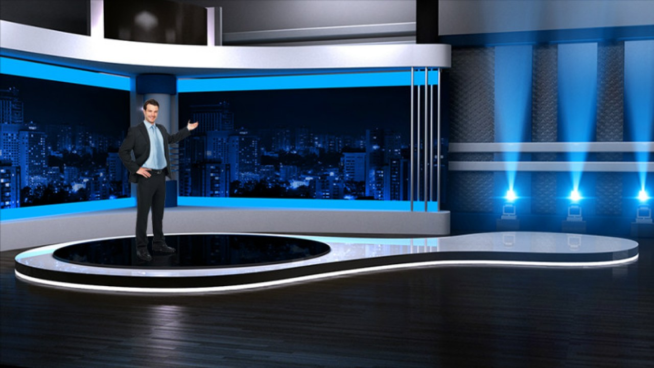 virtual set studio tv 1studio tv pack 1
