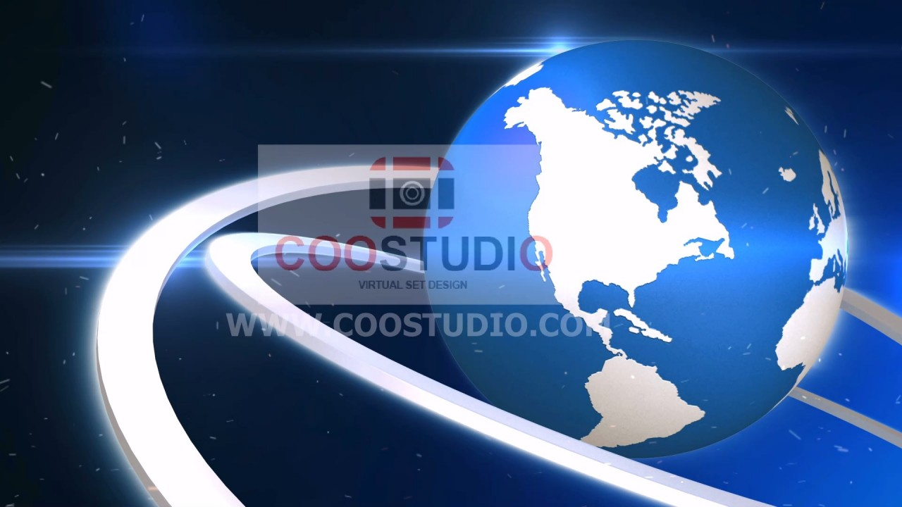 Alpha EARTH GLOBAL NEWS 15 VIDEO LOOPprimmum footage video
