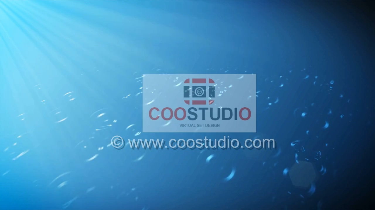 Free Video loop Blue background shine with rainfree footage video
