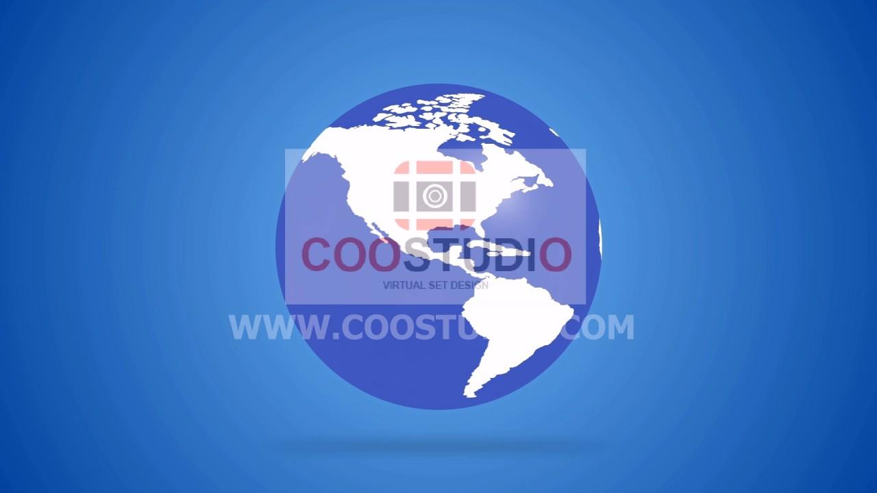earth global news 12 video loop primmum footage video